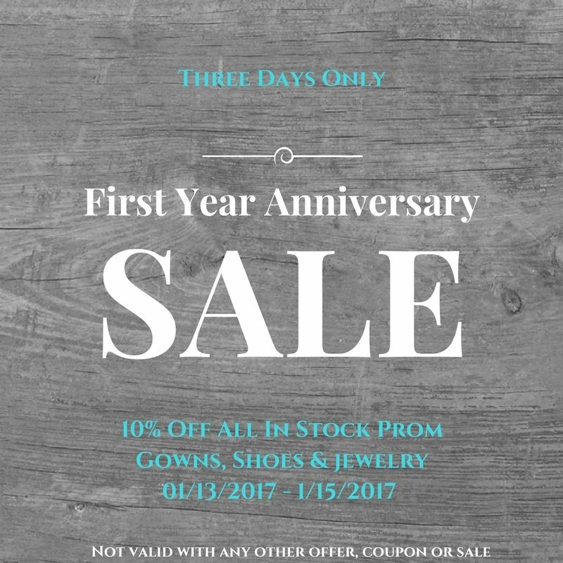 First-Year-Anniversary-Sale