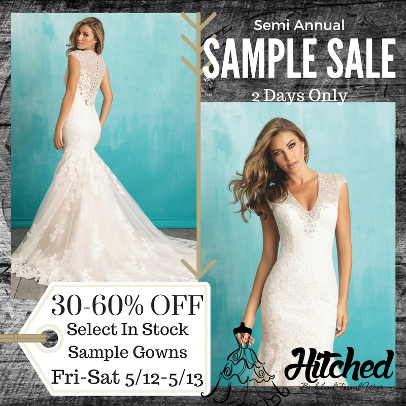 Wedding Dress Sample Sale Chicago Semi Annual Sample Sale Hitched ...